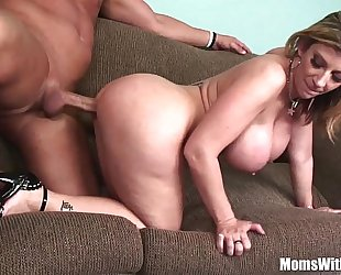 Milf golden-haired sarah jay soft biggest bazookas drilled