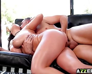Angela white bangs unfathomable in her hawt taut gazoo