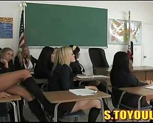 Classroom pleasure with alexis texas and allies