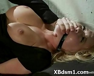 Bondage spicy slut enjoying ache