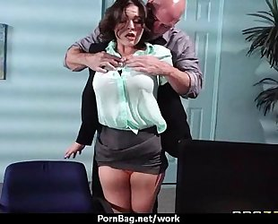 Hottest office fuck with breasty playgirl 13