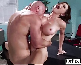 Sex act in office with large juggs floozy BBC slut (krissy lynn) mov-21