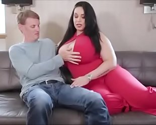 Voluptuous bbw anastasia lux fucking the delivery chap