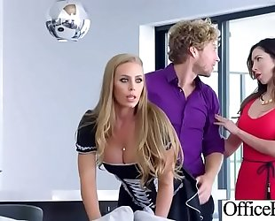 (nicole aniston) hawt office Married slut with large milk sacks love hardcore sex movie-20