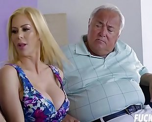 Alexis fawx in dads pill inside