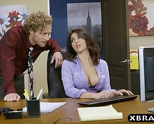 Big gazoo valentina nappi office footjob oral sex and fuck