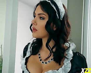 Valentina nappi in boss eye on maid