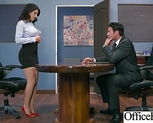 (valentina nappi) BBC slut with round large zeppelins in hard style sex in office clip-30