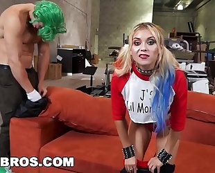 Bangbros - behind the scenes with marsha may and j-mac in cosplay