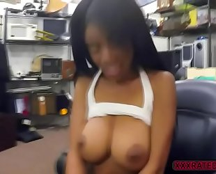 Busty ebon brittney white takes shawns schlong for specie