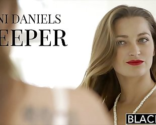 Blacked dani daniels vs 2 giant bbc!