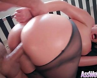 Big wazoo white bitch (brooklyn chase) acquire oiled up and hard analy nailed on webcam mov-15
