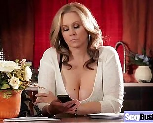 Hot aged black cock slut (julia ann) with large round zeppelins love sex movie-18