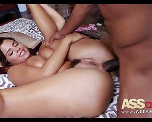 Keisha grey tries anal with plump wang