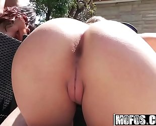 Mofos - real wench party - (kimber lee) - bikini honeys fucking poolside