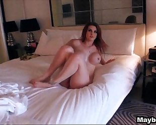 Amazing redhead acquiesces to anal rainia belle two three