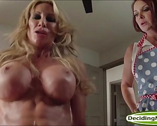Guy bonks stepmom janet mason and her milf ally farrah dahl