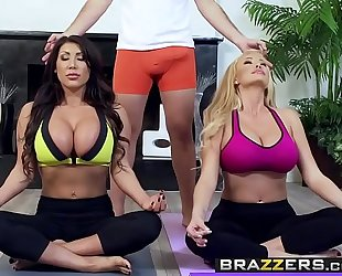 Brazzers.com - real housewife stories - (august taylor) - working out the wives