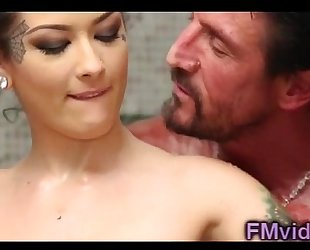 Katrina jade astonishing shower