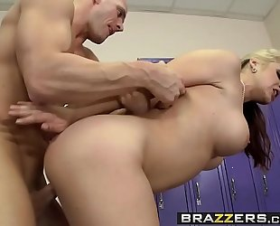 Brazzers.com - large mambos in sports - pre-game titual scene starring sarah vandella and johnny sins