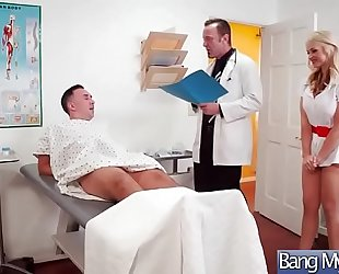 Superb patient (sarah vandella) receive tempted by doctor and nailed video-27