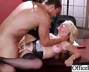 Hard scene with breasty bitch office wife (sarah vandella) vid-27