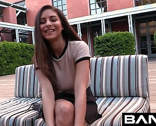 Bang real teen: nina is your flawless sinless college wife