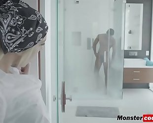 Tiffany watson getting her muff pounded hard by a monster dark dong