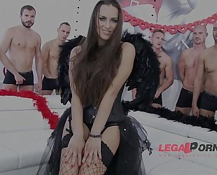 10 guys anal team fuck for mea melone sz988