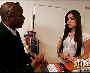 Sasha grey always receives the job done!