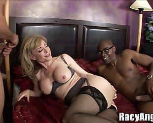 Interracial a-hole milfs alana evans, flower tucci, nina hartley, anjanette astori