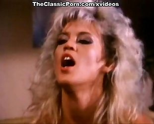 Amber lynn, nina hartley, buck adams in vintage fuck clip