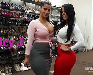 Bangbros - behind the scenes with latin chick women spicy j and diamond kitty