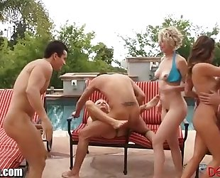 Devilsfilm outdoor anal bang