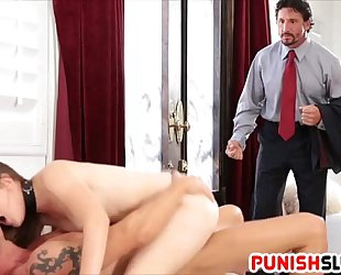 Nickey huntsman receives caught and dp fuck