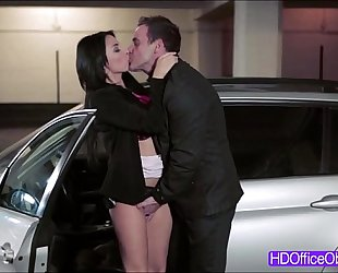 Busty secretary anissa kate acquires drilled hard by a bigcock of her boss