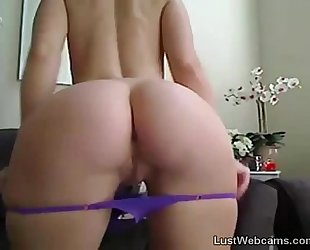 Busty milf toys her wet crack on web camera