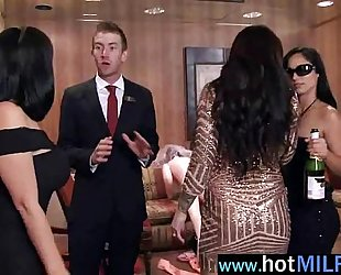 (india summer) wicked aged slutty wife busy with monster knob mov-23