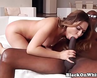 Interracial beauty kelsi monroe bonks bbc