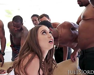 Jules jordan - riley reid interracial team fuck