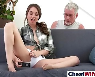 Hot hot cheating wife (riley reid) like cheating sex on tape vid-23